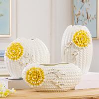 欧式陶瓷摆件现代简约工艺品餐桌客厅电视柜创意插花家居装饰