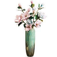 景德镇干花落地大花瓶高客厅欧式陶瓷复古陶罐插花特大号中式摆件SN7102