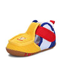 夏季学步鞋女宝宝单鞋不网鞋男婴儿凉鞋
