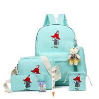 儿童书包女双肩包韩版女童1-3-4-5-6年级小学生书包8-10-12岁女生