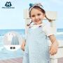 迷你巴拉巴拉女童套装新款夏季韩版短袖T恤吊带裙时尚套装