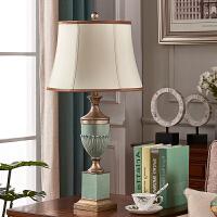 客厅书房创意复古乡村温馨地中海欧式遥控台灯