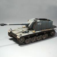 德国埃米尔自行火炮128毫米反坦克炮小号手拼装战车模型 1/35