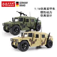 仿真惯性车 军事吉普越野车装甲车模型 声光音乐玩具车