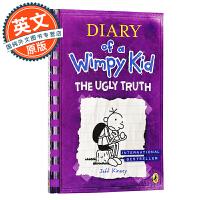 小屁孩日记5 英文原版 英版 Diary of a Wimpy Kid 5: The Ugly Truth进口童书 J