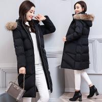 中年女装冬季羽绒棉衣中长款冬天棉袄子外套30到35多40岁45穿
