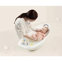 婴儿洗澡盆宝宝浴盆新生儿童环绕式护脊洗浴架
