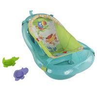 费雪 Fisher-Price 热带雨林伙伴宝宝浴盆 新生儿婴儿舒适洗澡盆