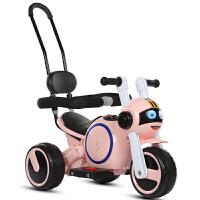 20190708045157790婴幼儿童电动摩托车三轮车1-3-5岁男女童车宝宝可坐人充电童车