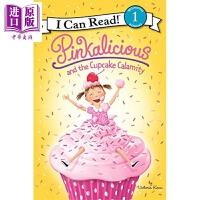 【中商原版】I Can Read Level 1 我可以读1级 粉红控 Pinkalicious Cupcake Cal