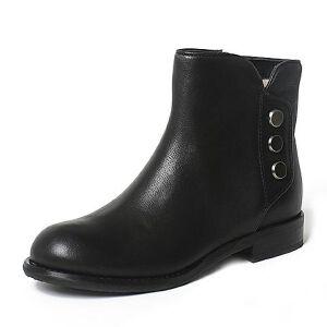 Teenmix/天美意专柜同款牛皮女短靴6S241DD6