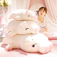 小猪猪毛绒玩具公仔布娃娃送女孩暖手抱枕可爱玩偶生日礼物圣诞节