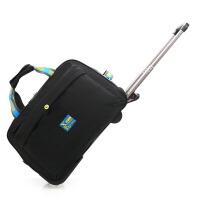 新款大容量拉杆包女男小型防水拉杆箱包行李牛津布旅游行收纳拉包