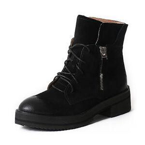 Teenmix/天美意专柜同款牛皮女靴6Q941DD6