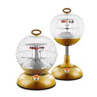爱索佳鸟笼取暖器全方位取暖电暖器麻将桌烤火炉热风扇家用可以升降