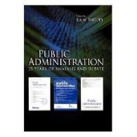 【预订】Public Administration - 25 Years Of Analysis And