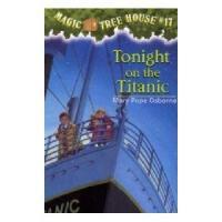 【现货】英文原版儿童书 Tonight on the Titanic 神奇树屋17:泰坦尼克号惊魂夜 新旧版本随 机发