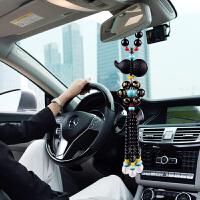 保平安符吊坠摆件车载后视镜挂饰品汽车葫芦挂件吊饰