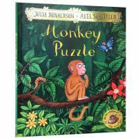英文原版 Monkey Puzzle儿童读物晚安睡前故事绘本平装吴敏兰书单