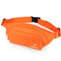 男士腰包休闲运动户外跑步包女多功能收银防水贴身手机包证件腰包