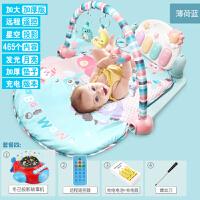 婴儿健身架器新生儿脚踏钢琴宝宝音乐游戏毯玩具0-1岁3-6-12个月 充电