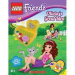 【预订】Lego Friends: Olivia's Great Idea (Activity Book