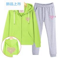 童装女童运动套装春秋2018新款两件套儿童卫衣中大童春装洋气潮衣