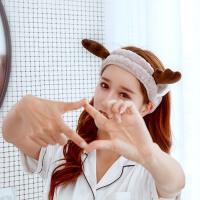 买一送一2种款式泰蜜熊束发带洗脸化妆韩国包头巾女洗脸敷面膜可爱发套沐浴月子洗漱发箍