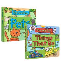 英文原版 Pop And Play: Under The Sea/ Things That Go/Pets/Zoo A