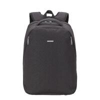 卡拉羊简约多功能休闲大容量男女旅行笔记本电脑背包双肩包CS5794