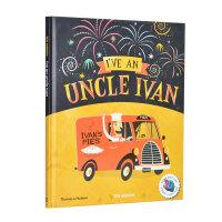 I've an Uncle Ivan 我有一位伊万叔叔 儿童插画艺术书