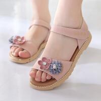 女童凉鞋夏季新款童鞋公主鞋宝宝鞋儿童沙滩鞋中大童学生凉鞋