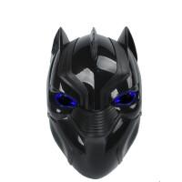 圣诞节儿童面具男蜘蛛侠美国队长钢铁侠黑豹蚁人头盔舞会派对道具
