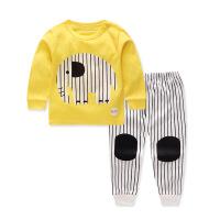 童装儿童内衣套装中小童秋衣秋裤婴儿睡衣家居服