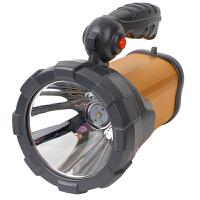 高功率LED强光探照灯 远射王充电T6手电筒 户外照明钓鱼灯防水工程安防巡逻防暴 328-T6 黄光