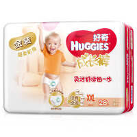 [当当自营]好奇(Huggies) 金装成长裤男女通用XXL号28片