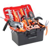 儿童工具箱玩具套装仿真维修电钻多功能修理箱拧螺丝组装