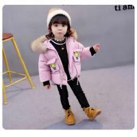0女宝宝棉衣1-3岁韩版2加厚4儿童棉袄羽绒女童洋气外套冬装潮