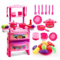 女孩做饭煮饭 宝宝厨具餐具套装水果切切乐儿童过家家厨房玩具