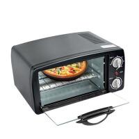 电烤箱家用迷你小型9L烘焙蛋糕电烤箱 黑色