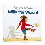 顺丰发货 英文原版 Willy the Wizard 魔术师威利 my dad my mum 作者 Anthony B