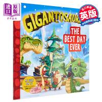 【中商原版】Gigantosaurus: The Best Day Ever 小恐龙大冒险5 获奖童书 原版卡通亲子故事
