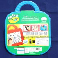 美国Crayola/绘儿乐 白板蜡笔画板游戏手提套装81-1318