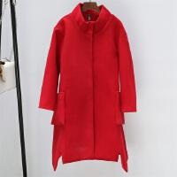 LeeCooper冬新款女装呢子时尚气质中长款女款毛呢大衣