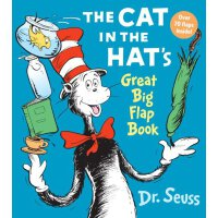 The Cat in the Hat's Great [Big Flap Book Board Book]戴高帽的猫[
