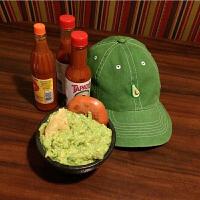 美式复古原谅绿色帽水洗做旧牛油果刺绣棒球帽潮流男女鸭舌帽 绿色 可调节