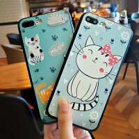 iPhone7手机壳女款苹果7plus带挂绳情侣七薄可爱萌全包