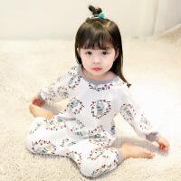 女童家居服春秋装宝宝冬季新款哈衣棉0婴儿连体睡衣1―3岁睡袋5