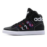 adidas/阿迪达斯女款2019春季三叶草高帮板鞋运动保暖休闲鞋EE3819
