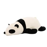 20180528055950535熊猫公仔毛绒玩具布娃娃抱枕大号玩偶抱抱熊女孩生日礼物 黑白